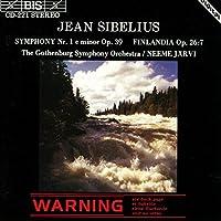 シベリウス:交響曲 第1番、フィンランディア [Import]