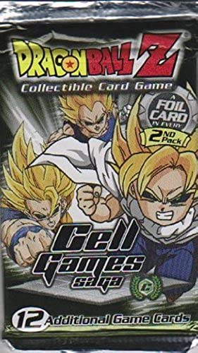 Dragon Ball Z Trading Card Game-Cell Games Saga Booster Pack