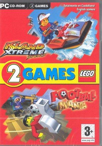 2 Games Lego Island Xtreme Stunts Football Mania - PC - UK