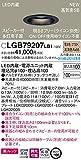パナソニック(Panasonic) 天井埋込型 LED(電球色) ダウンライト 美ルック 浅型10H 高気密SB形 拡散タイプ(マイルド配光) 調光タイプ(ライコン別売) スピーカー付 埋込穴φ100 LGB79207LB1