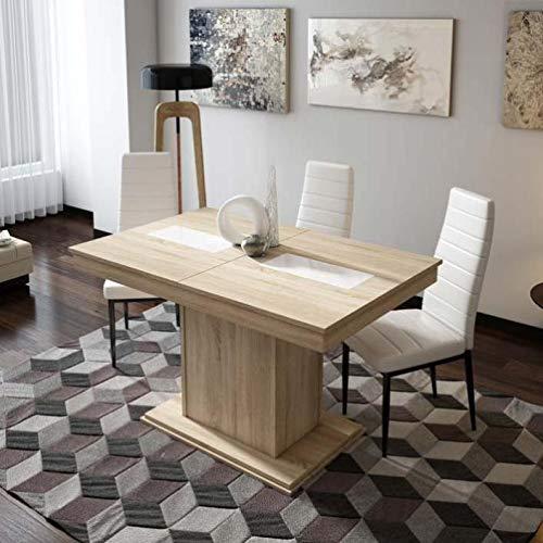 Mueble Mesa de Comedor, Mesa Moderna Extensible, mesas de Comedor ref-59