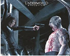Underworld: Evolution Kate Beckinsale as Selene Shoots Tony Curran as Marcus 8 x 10 Photo
