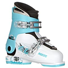 '6in1' technology, it is possible to adjust the size of the ski boot to accommodate the natural growth of the kids' foot Two micro adjustable plastic buckle Soft flexing youth ski boot Sole length of the boot remains the same as you expand and contra...