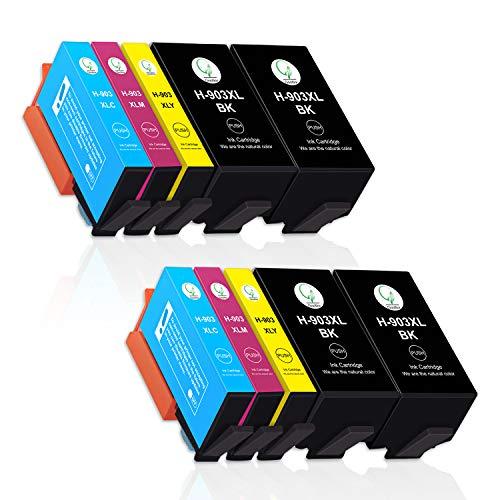 Gootior 903XL Cartucce Compatibili HP 903 XL, Alta Capacità Multipack Sostituzione per HP OfficeJet 6950 HP OfficeJet Pro 6960 6970 (4 Nero,2 Ciano,2 Magenta,2 Giallo)