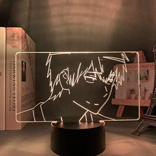 Luz Led Anime Toradora Ryuuji Takasu para decoración de dormitorio de niños, luz nocturna Britday, habitación casada, escritorio, lámpara acrílica 3D Toradora Manga
