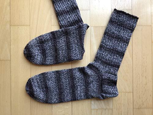 Socken handgestrickt Gr 43 44