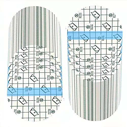 100 Pieces Transparent Stretch Adhesive Bandage Waterproof Bandage Round Transparent Film Dressing Protective Clear Adhesive Bandages Disposable Cover Dressing Tape for Shower Tattoos (4 Inches)