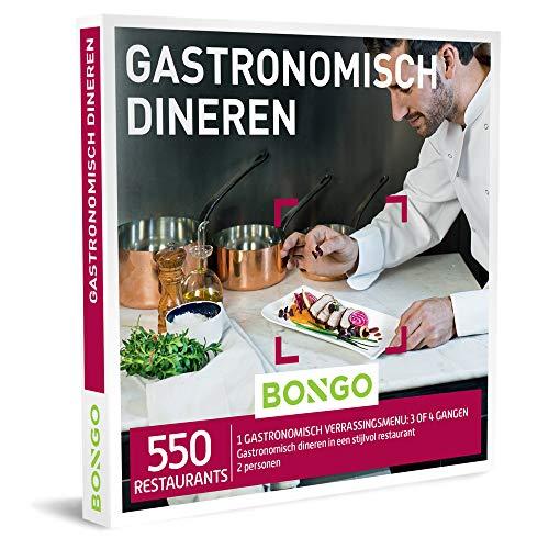 Bongo Bon - Gastronomisch Dineren | Cadeaubonnen Cadeaukaart cadeau voor man of vrouw | 550 klasserestaurants