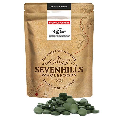 Sevenhills Wholefoods Chlorella Comprimidos Orgánico, Pared