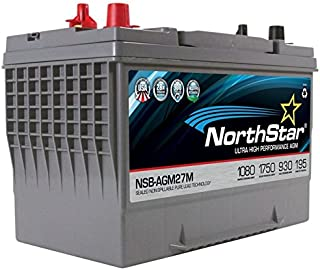 Northstar Agm Engine Start NSB-AGM-27M Battery