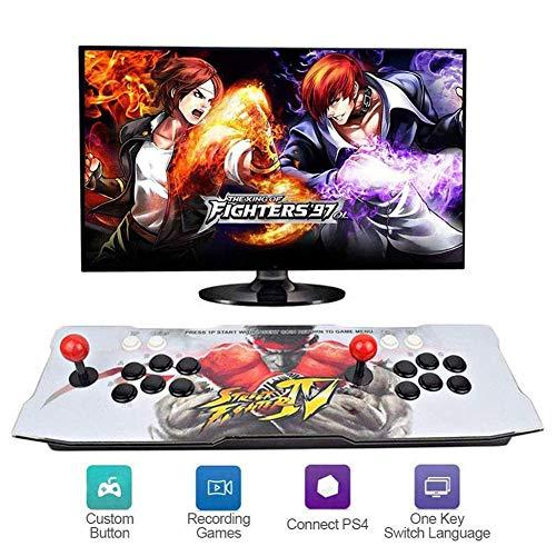 Pandora's Box 3D Home Arcade Game Console   2710 Retro HD-spellen   Spelbesturingen voor 2 spelers   Full HD-video (1280 x 720)   Ondersteuning voor multiplayer   HDMI/VGA/USB/AUX audio-uitgang