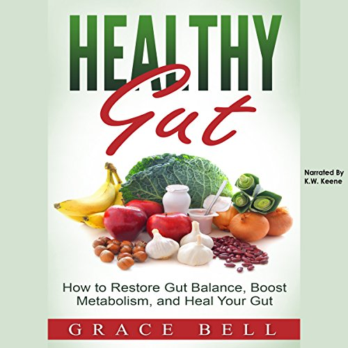 Healthy Gut audiobook cover art