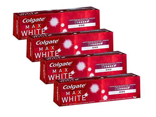 Colgate Max White One Optic, 75 ml, 4 Stück