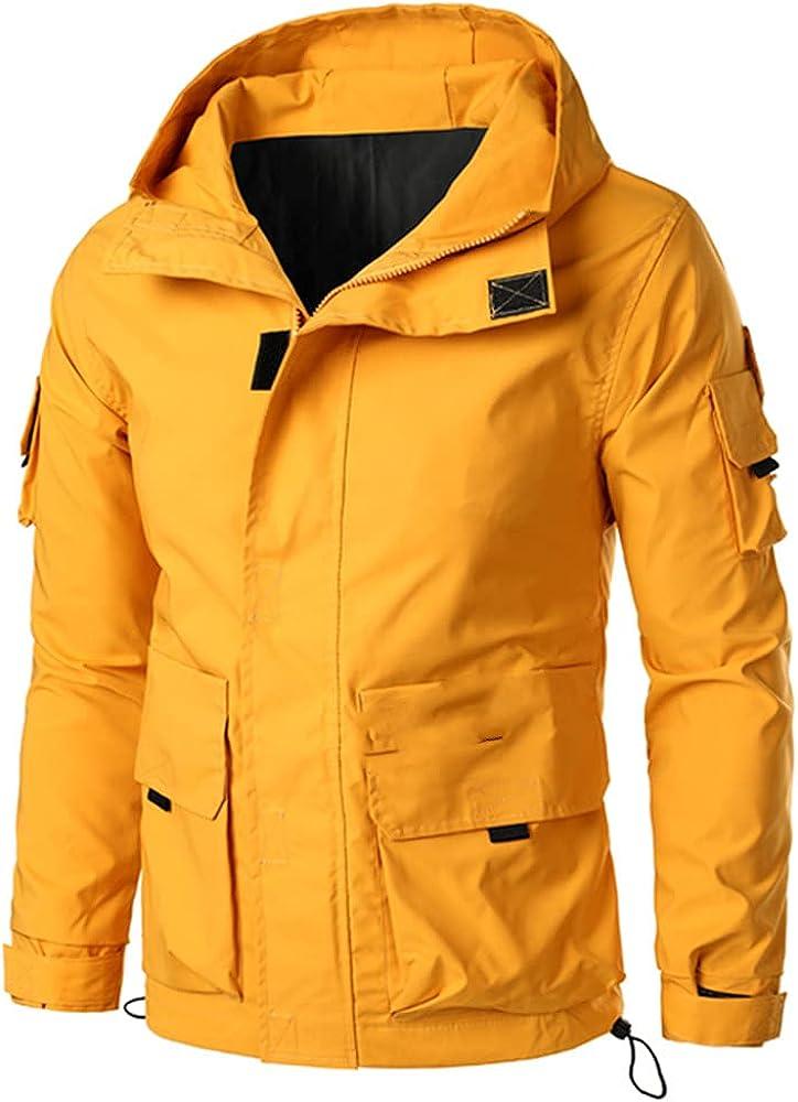 Men Jacket Autumn Casual Zipper Bomber Jackets Mens Hip Hop Streetwear