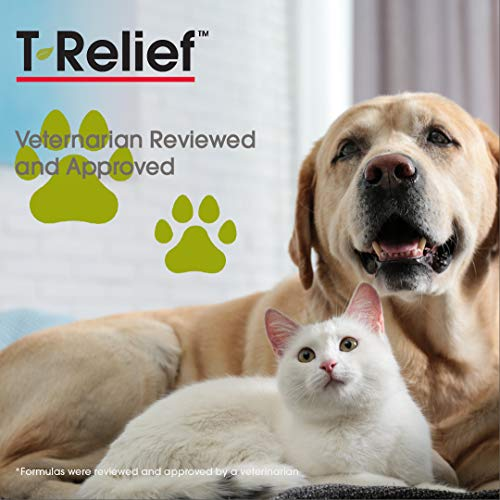 MediNatura T-Relief Pet Arthritis Pain with Arnica + 12 Active Pain Relievers - 90 Tablets