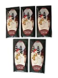 McStevens Hot Chocolate (Snowman Chocolate & Cinnamon) Five 1.25oz Packets