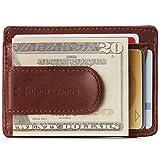 Alpine Swiss RFID Dermot Money Clip Front Pocket Wallet For Men...