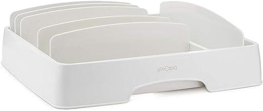 YouCopia - StoraLid Medium- Food Container Lid Organizer - White - YCA-50083