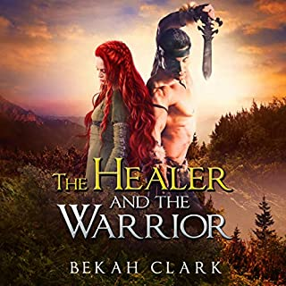 The Healer and the Warrior audiobook cover art
