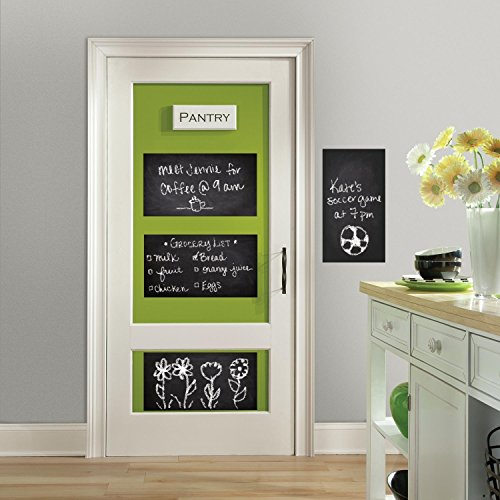 RoomMates Chalkboard Peel And Stick Giant Wall Decals,Multicolor
