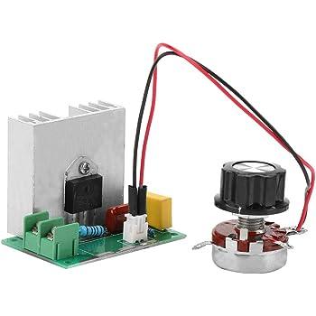 Ajustar luminosidad velocidad AC 220V Akozon 6000W Regulador de Voltaje temperatura