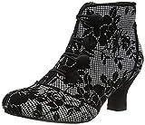 Joe Browns Goddess Velvet Trim Boots, Botas Cortas al Tobillo Mujer, Negro/Multicolor, 35.5 EU