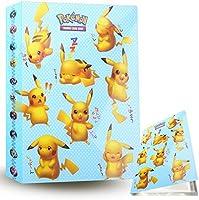 ZoneYan Álbum de Pokemon Album Pokemon, Album de Cartas Pokemon , Album de Cartas Coleccionables, Carpeta Cartas Pokemon,...