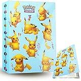 ZoneYan Álbum de Pokemon Album Pokemon, Album de Cartas Pokemon , Album de Cartas Coleccionables, Carpeta Cartas Pokemon, Album Pokemon Cartas , 30 Páginas, hasta 240 Tarjetas (Pikachu)