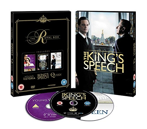 The Royal Box (The King's Speech/ The Queen/ Young Victoria) [DVD] [2017]