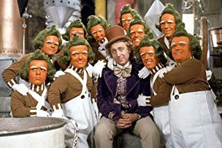 Gene Wilder in Willy Wonka & the Chocolate Factory Oompa Loompa portrait