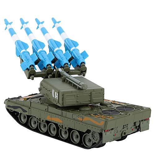 Legiertes Spielzeug, Raketenmodell mit 1:40 Führung, langlebiger Panzer mit Rückzugsfunktion, für Kinder
