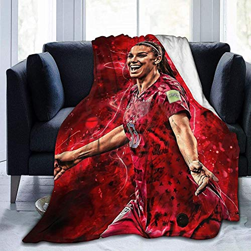 KINKA Alex Morgan Super Soft Sheep Blanket, Suitable for Adults Or Children's Sofa Or Bed 50'x40'