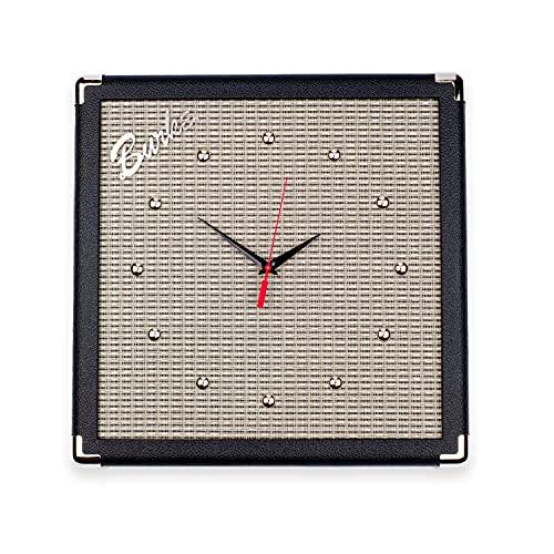 Amp Guitar Wall Hanging Clock