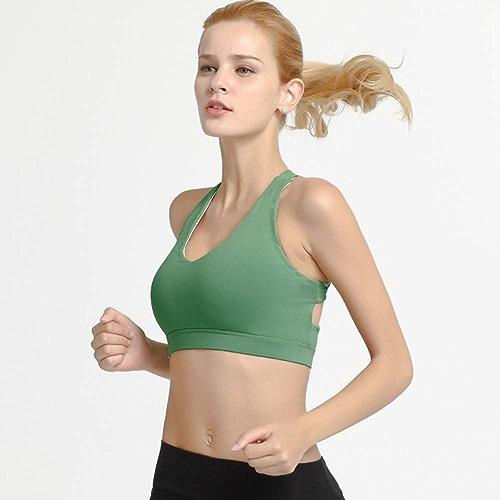 AIYUNDONG Soucravaten-Gorge De Sport Antichoc FonctionneHommest Fitness Yoga sous-VêteHommests Femme Gym
