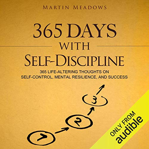 365 Days With Self-Discipline audiobook cover art