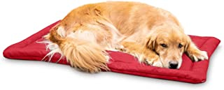 K9 Ballistics Tough Dog Crate Pad - Washable, Durable and Waterproof Dog Crate Beds - Sizes: Small, Medium, Large, XL, XXL. Color: Red, Tan, Black, Green