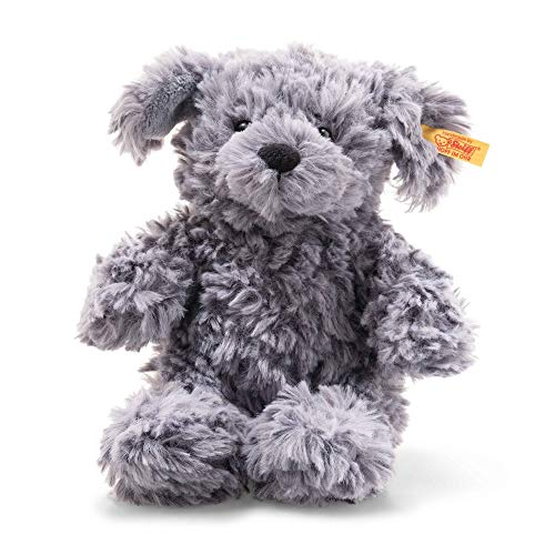Steiff 83563 Hund, blaugrau, 18 cm