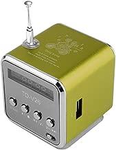 Portable Aluminum Alloy Micro USB Mini Stereo Super Bass Speaker Ubwoofer Musica MP3/4 FM Radio Receiver
