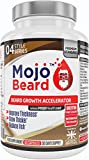 Mojo Beard - Beard Growth | Beard Stimulator | Beard Accelerator | Beard Growth Supplement | Beard Growth Pills - MONEY BACK GUARANTEE