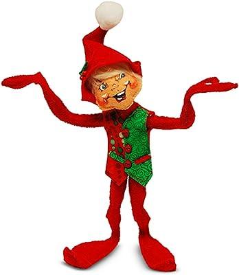 Annalee 9in Red Harvest Elf