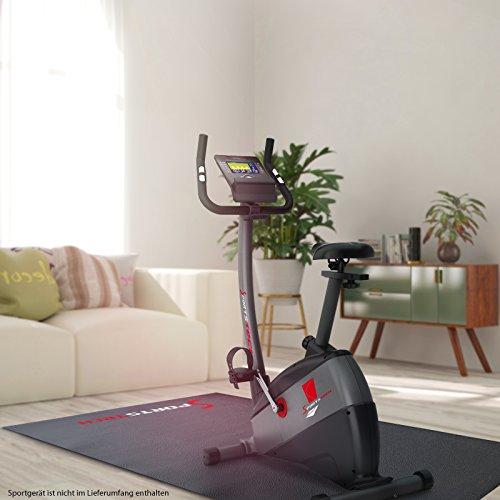 Sportstech Bodenschutzmatte für Fitnessgeräte Heimtrainer 5