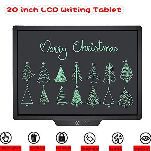 ANCLOK Tableta de Escritura LCD de 20 Pulgadas Dibujo a Mano Digital Almohadillas de Escritura para niños Mensaje Tableta de Tableta gráfica electrónica Graffiti