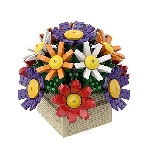Morton3654Mam Juego de 699 piezas de bloques de construcción para bonsáis, bloques de construcción, juguetes educativos, caja de regalo