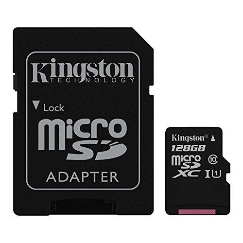 Kingston - SDC10G2/128GB - Carte MicroSD - 128 Go - Adaptateur SD