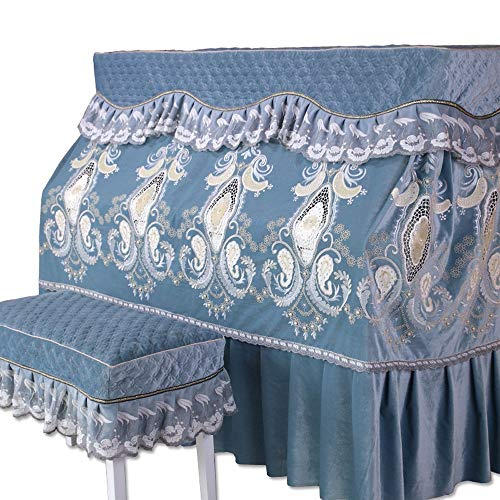 Purchase Fashion Piano Cover Piano Full Cover Flannel European Simple Fabric Dustproof Thickened Cov...
