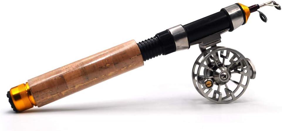 60cm Cheap bargain Carbon Fiber Telescopic Fishing Rod with Sal Combo Popular Reel Sea