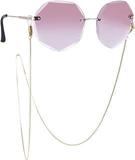 yyuezhi Catena per Occhiali Fascette per Occhiali Sunglass Titolare Strap Cinturino Regolabile per Occhiali Antiscivolo Nero Cinturino porta Cordino per Occhiali Sistema di Ritenzione di Eyewear 10PCS