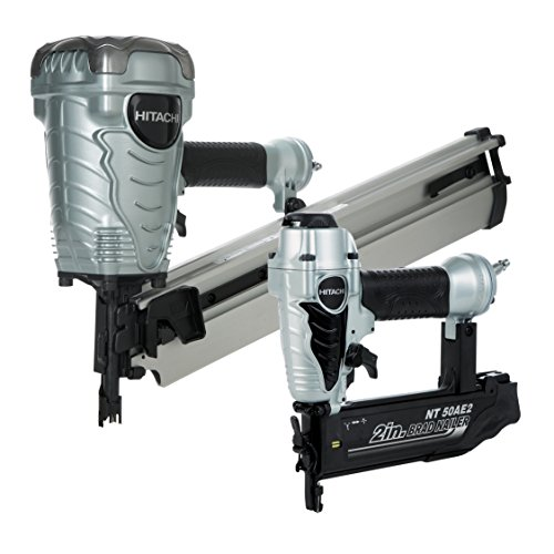 Hitachi KNR9050A Framing Nailer and Brad Nailer Combo Kit (Includes NR90AE(S) and NT50AE2) (Discontinued by manufacturer)
