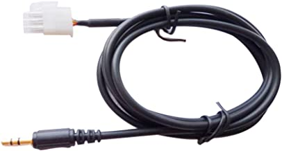 Baoblaze Motorcycle Male Jack for iPod iPhone AUX Cable 3-pin for Honda Gl1800 Goldwing Autocycle