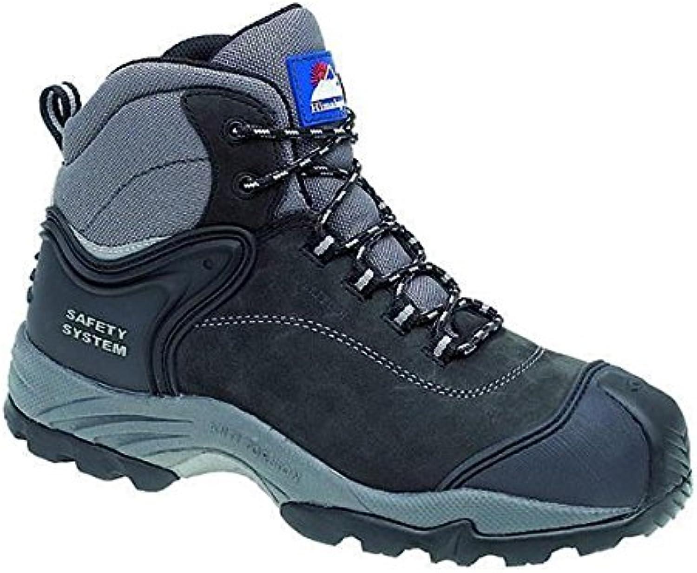 Himalayan Black Lightweight Waterproof Non-Metallic Safety Boot - 4103